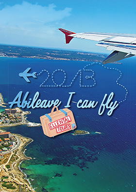 Abizeitung Cover: Abileave I can fly