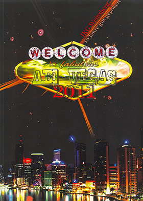 Abizeitung Cover: Welcome to fabulous Abi Vegas