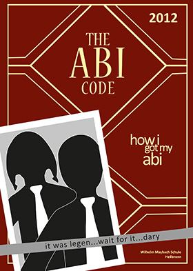 Abizeitung Cover: The ABI Code - How I got my abi