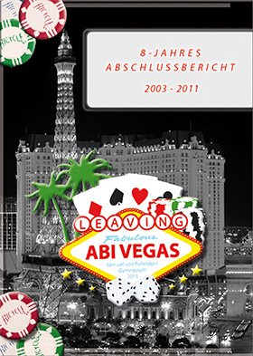 Abizeitung Cover: Leaving Abi Vegas