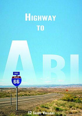 Abizeitung Cover: Highway to Abi